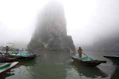 Vietnam - Ha Long  Bay / Wietnam - Zatoka Ha Long  29-03-2014