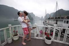 Vietnam - Ha Long  Bay / Wietnam - Zatoka Ha Long 30-03-2014