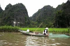 Vietnam / Wietnam - Trang An - Tam-Coc 01-04-2014