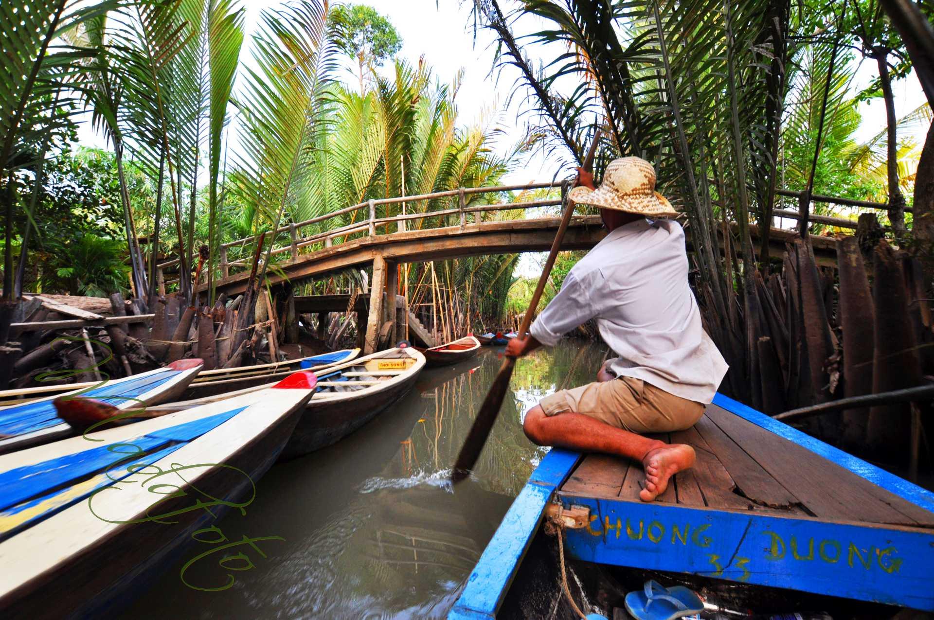 (9a) Wietnam – Delta Mekongu – My Tho