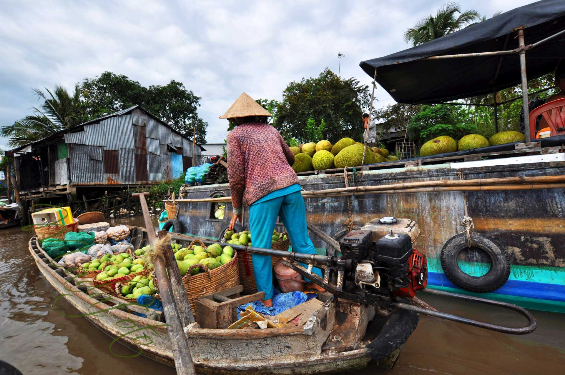 (9b) Wietnam – Delta Mekongu – Can Tho