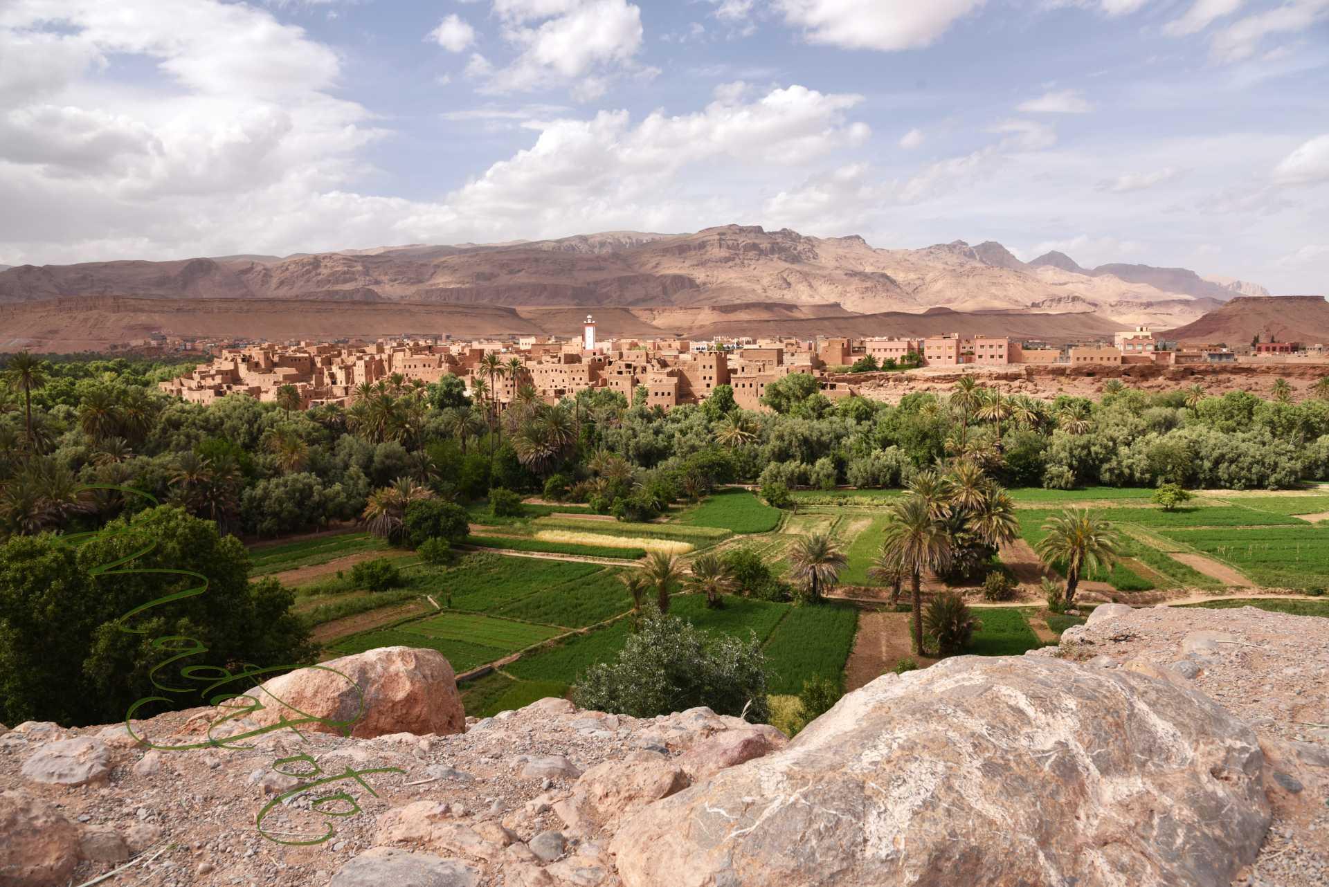 (3) Maroko – okolice Tinghir – wąwóz Todra – dolina Dades